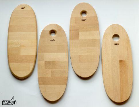 """Planches """"surf"""" en hêtre"""
